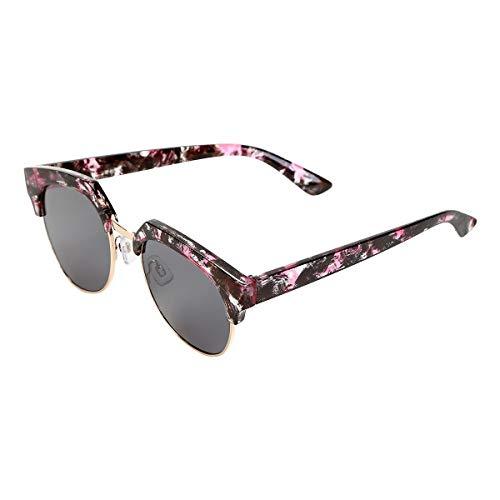 Óculos De Sol King One A40 Feminino - Preto+Marrom - Único