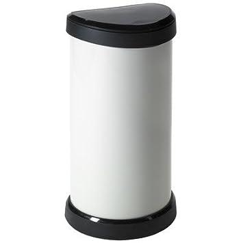 CURVER 40 litros Touch Top - Cubo de Basura para Cocina ...