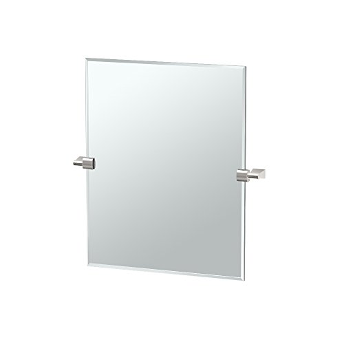 Gatco 4389SM Bleu, Small Rectangle Mirror