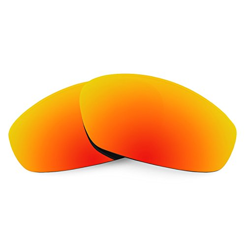 (Revant Polarized Replacement Lenses for Oakley Whisker Fire Red MirrorShield)