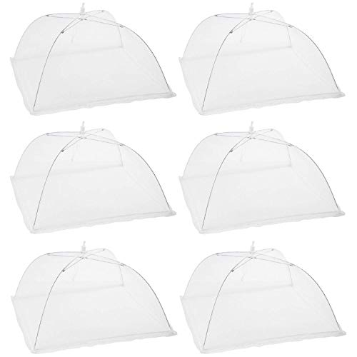 Houseables Mesh Food Cover, Outdoor Pop-Up Canopy, 17