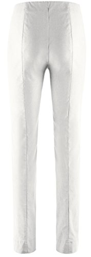 SteHmann - Pantalón - recto - Básico - para mujer blanco hueso