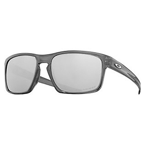 Oakley  Men's Sliver Polarized Grey Smoke/Chrome Iridium One Size - Oakley For Men