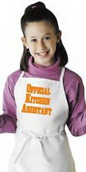 Blazers Proforms Costumes - Child's Cooking Apron Official Kitchen Assistant Fun Kids Aprons by CoolAprons
