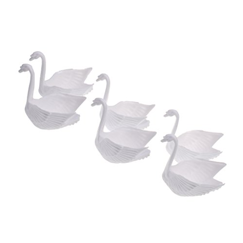 - Jili Online 12Pcs PVC Swan Wedding Favors Boxes Bomboniere Candy Boxes Holders Birthday Party Gift