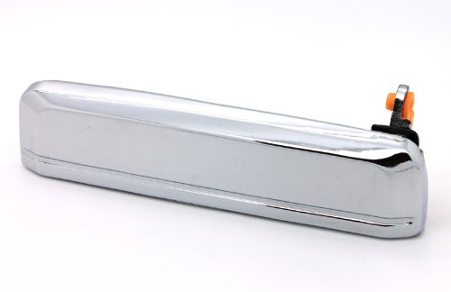LatchWell PRO-4002424 Driver Side Exterior Door Handle in Chrome for Nissan Hardbody Pickup Truck, D21 Truck & ()