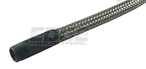 36 Hose Metal - Industrial Grade Heavy Duty Flexible Metal Hose Connector 3/8