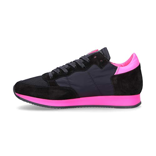 Nero Trldnf01 Camoscio Sneakers Donna Philippe Model nwCXq0xgt7