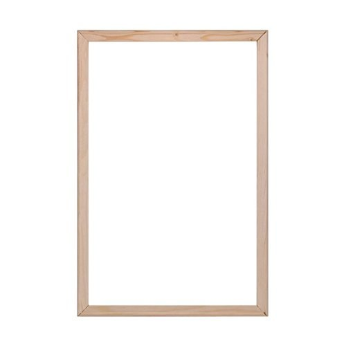 BOSHUN Solid Wooden Frame Canvas Stretcher Bars for Oil Painting 40cmx50cm,4 Strips 16 x 20 inch
