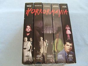 Horrormania - 5 Movie Box Set - Night of the Living Dead - Alice, Sweet Alice - Psychomania - Amitville II The Possession - Little Shop of Horrors
