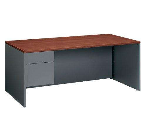 GLBA3672SPLAWH - Global Adaptabilities Left Pedestal Desk