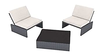 Amazon De Artelia Estoria S Polyrattan Loungemobel