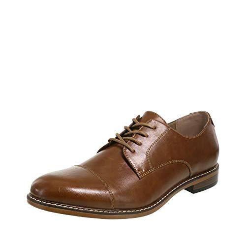 Dexter Men's Cognac Men's ALEC Captoe Oxford 11 Regular (Dexter Shoes)