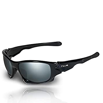 Hive - Gafas de Sol polarizadas Efecto Espejo - UV400 - Kat ...