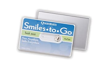Amazon smiles to go travel dental floss on card beauty smiles to go travel dental floss on card reheart Gallery