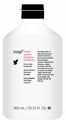 MOP Shampoo for Normal to Dry Hair - Mixed Greens - 10 oz (Modern Organic Products compare prices)