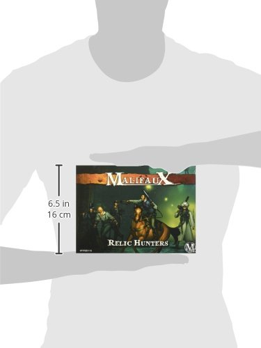 Wyrd Miniatures Malifaux Guild Relic Hunters Model Kit (7 Pack) 4