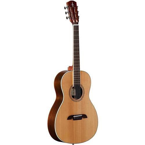 Alvarez Artist AP70W Parlor 6-String Acoustic Guitar, 18 Frets, Mahogany Neck, Pau Ferro Fingerboard, Solid A+ Sitka Spruce Top, Walnut Back/Sides, Natural Gloss