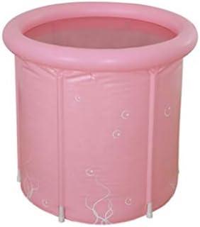 SBWFH ピンクのバスタブ - プラスチック折り畳み式インフレータブル太い自立バスタブ、温かいバスタブ、インフレータブルコンフォートクッション