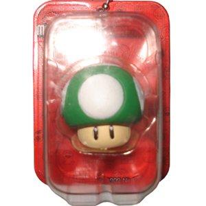 1up Mushroom Figure - New Super Mario Bros. Wii Mini Blister Collection Takara Tomy Nintendo (Super Mario Bros Mushroom)