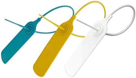 Atadura de cables de nylon 50Pcs Etiqueta Autobloqueante Red Cremallera Anillo Embellecedor Envolvente línea W9Y7
