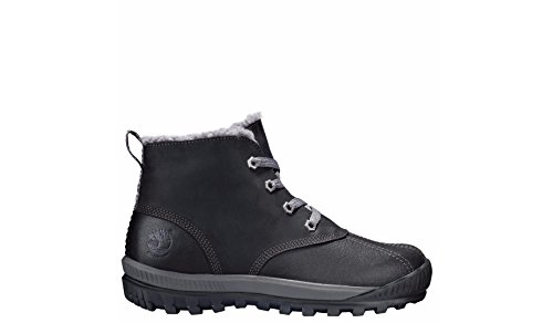 Timberland Women's Mt. Hayes Waterproof Chukka Boot,Black Tech Tuff Savanne PU C by Timberland