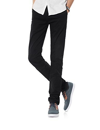Demon&Hunter 910X Slim-Fit Series Men's Stretch Casual Pants DH9101(32) ()