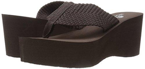Pictures of Nomad Women's Tide Wedge Sandal Black 6 M US 4