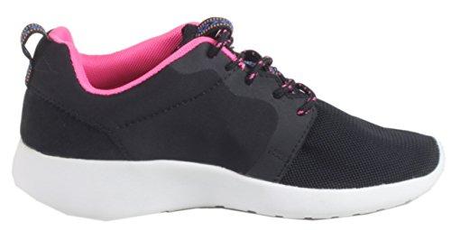Multicolore schwarz Sneaker Adulto Cultz Unisex fuchsia fWxna8PPT