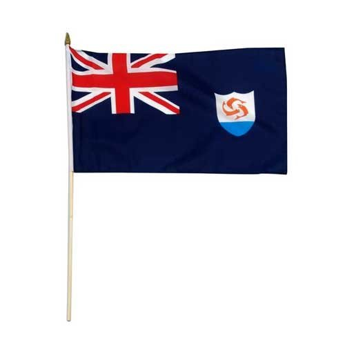 US Flag Store Anguilla 12in x 18in -