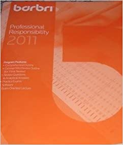 Barbri Multistate Professional Responsibility Examination (MPRE