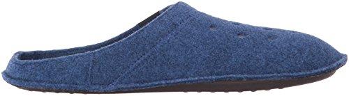 crocs Unisex-Erwachsene Classic Slipper Pantoffeln Blau (Cerulean Blue/Oatmeal)
