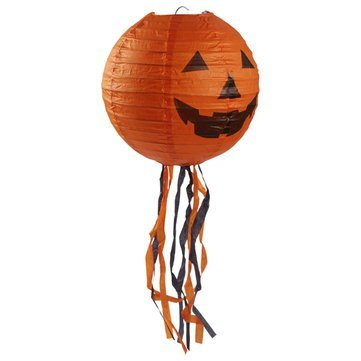 Cucurbita Newspaper - Halloween Pumpkin Lantern 44cm Outdoor Prop Party Supply Decoration - Vine Publisher Composition Autumn - 1PCs]()