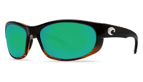 Costa Howler Sunglasses Coconut Fade Green Mirror