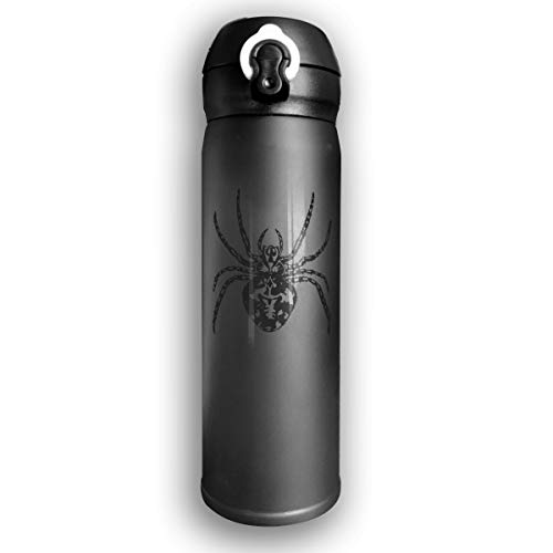 Qiop Nee Insulated Vacuum7oz Stainless Steel Water Bottle Venom Spider for - Spider Insulated