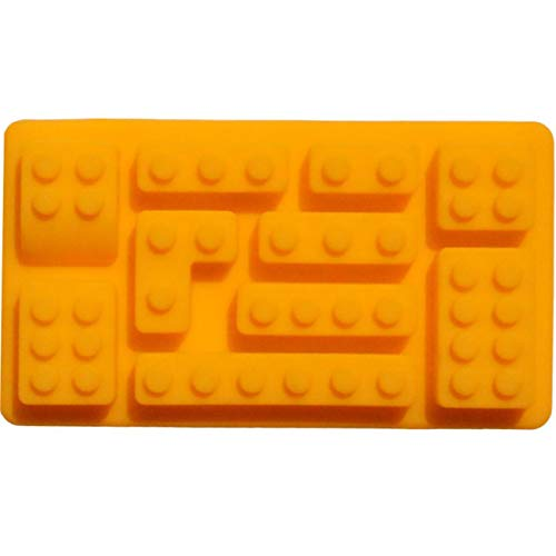 G.G.W 1PCS Tetris Ice Cube Trays Ice Maker Cold Drinks Silicone Molds for Whiskey Cocktails Ice Cubes Chocolates Candy Gummies