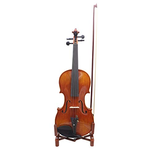 Chienti- Foldable Adjustable Violin & Bow Stand Holder