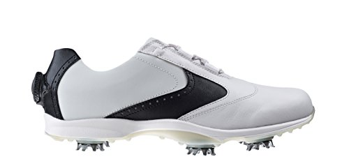 FootJoy Women's Golf Shoes Embody Boa 6.5 M White/Black