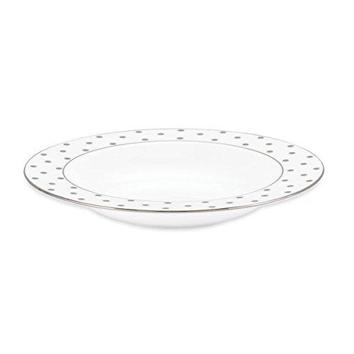 kate spade new york Larabee Round Platinum Pasta / Soup Bowl Set/4 -