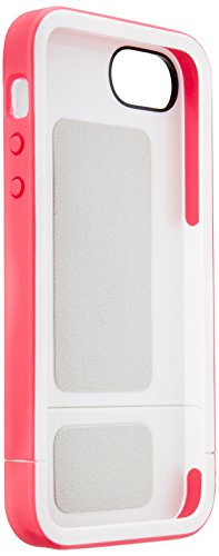 Incase Pro Slider Rugged Case for iPhone 5 SE / 5s / 5 - White/Raspberry - CL69045