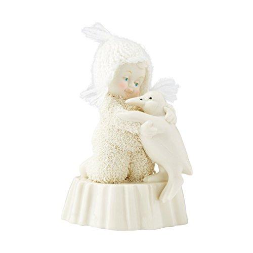 "Department 56 Snowbabies ""Penguin Squeeze"" Porcelain Figurine, 3.98"""