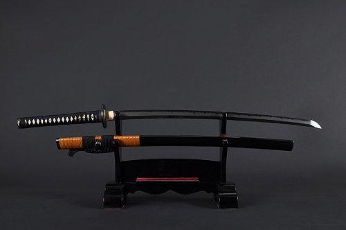 Handmade Sword - Fully Hand Forged Clay Temper Practical Dragon Katana Sword