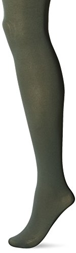HUE Super Opaque Tights with Control Top Shadow Olive 1]()