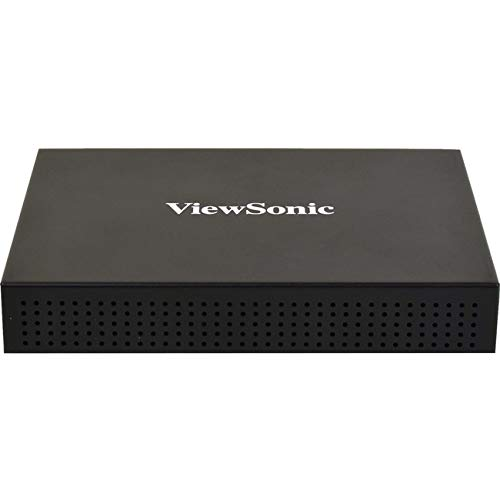 (ViewSonic SC-A25R Digital Signage Media Player for HD Commercial Displays with Revel Digital CMS, HDMI, LAN)