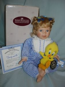 Warner Bros Tweety and Me the Ashton - Drake Galleries 1998 Porcelain Doll