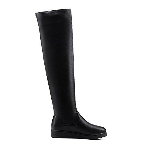 BalaMasa  Abl09851, Sandales Plateforme femme - Noir - noir,