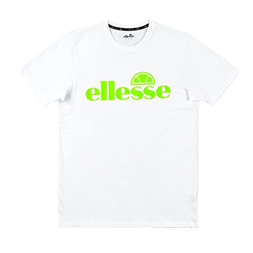 Ellesse Tennis Apparel - ellesse T-Shirt Dazino, Size:L, Color:Optic White Green