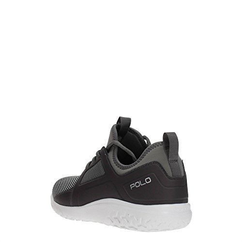 Ralph Homme ath Lauren Grey Train150 Polo sk Sneakers fqvzfdw