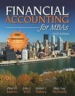 Financial accounting for mbas 3rd edition peter d easton john j financial accounting for mbas 6th edition fandeluxe Images