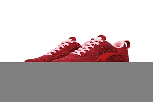 OneMix - Zapatillas de running para mujer rojo vino